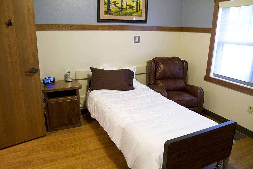 Hospice Home Bedroom