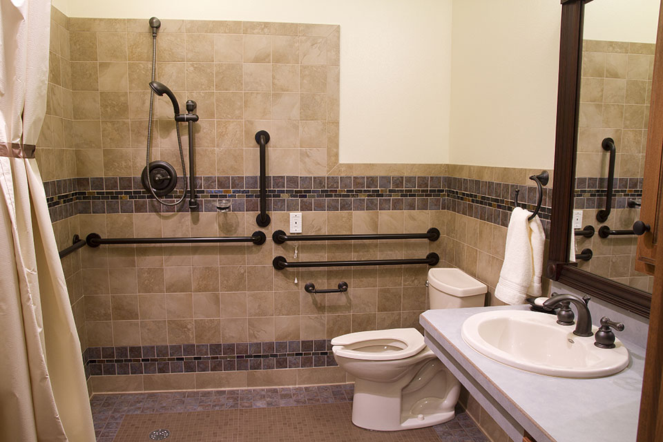 Hospice Home Bathroom