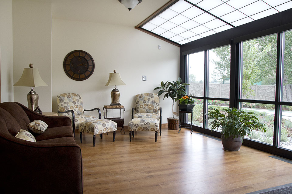 Hospice House Sunroom